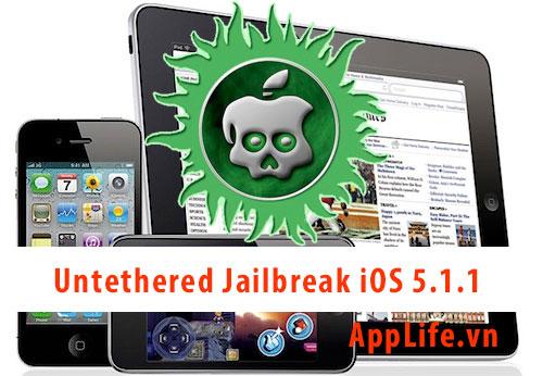 Cách untethered jailbreak bằng Absinthe 2.0 cho iPhone, iPad và iPod Touch