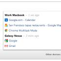 Chức năng Tab Sync của Google Chrome