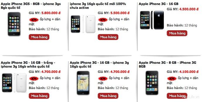 gia-iphone-4-3GS-cu