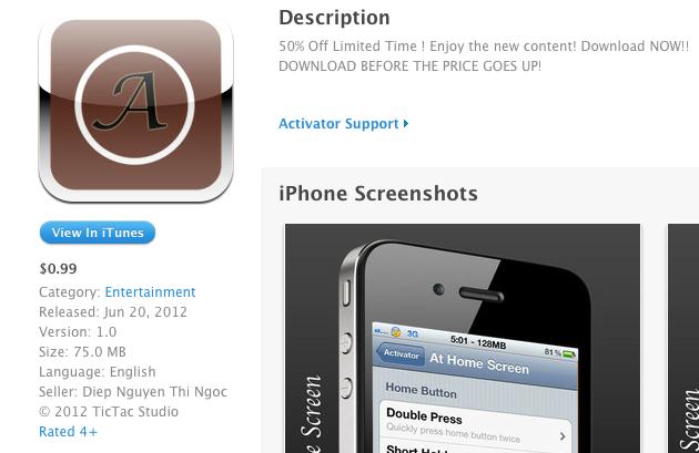 (Cảnh báo) Ứng dụng lừa đảo người dùng có nguồn gốc Việt Nam xuất hiện trên App Store
