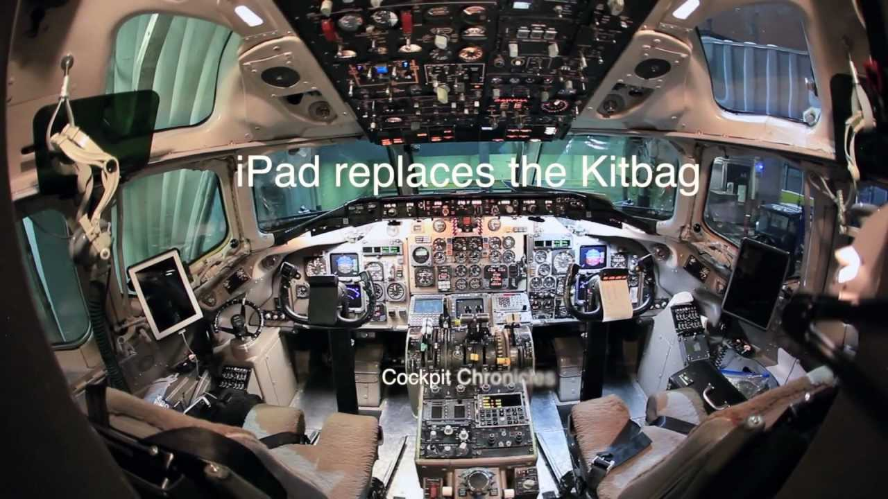Cockpit Chronicles: iPad replaces the Kitbag