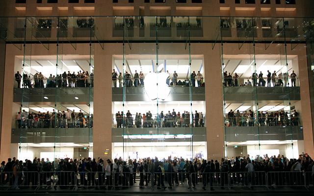 Một cửa hàng Apple Store tại Sydney, Úc