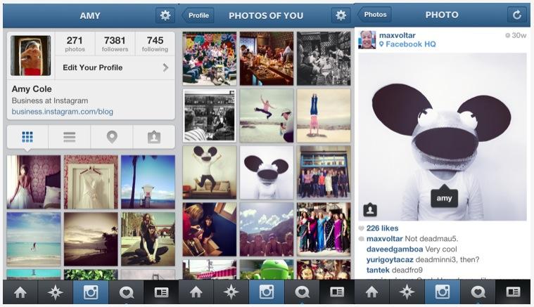 Instagram 3.5 mang lại nhiều tính năng xã hội cho người dùng