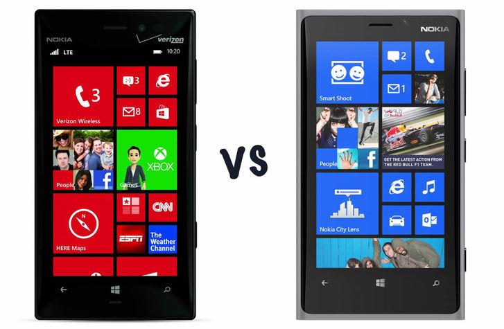 Tuy Lumia 928 và 920 có nhiều điểm giống nhau nhưng lại có nhiều khác biệt.
