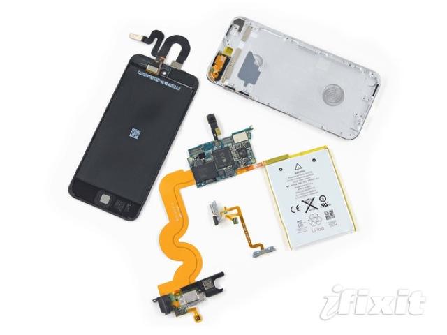 iPod Touch 5 16GB không có nhiều thay đổi lớn về phần cứng