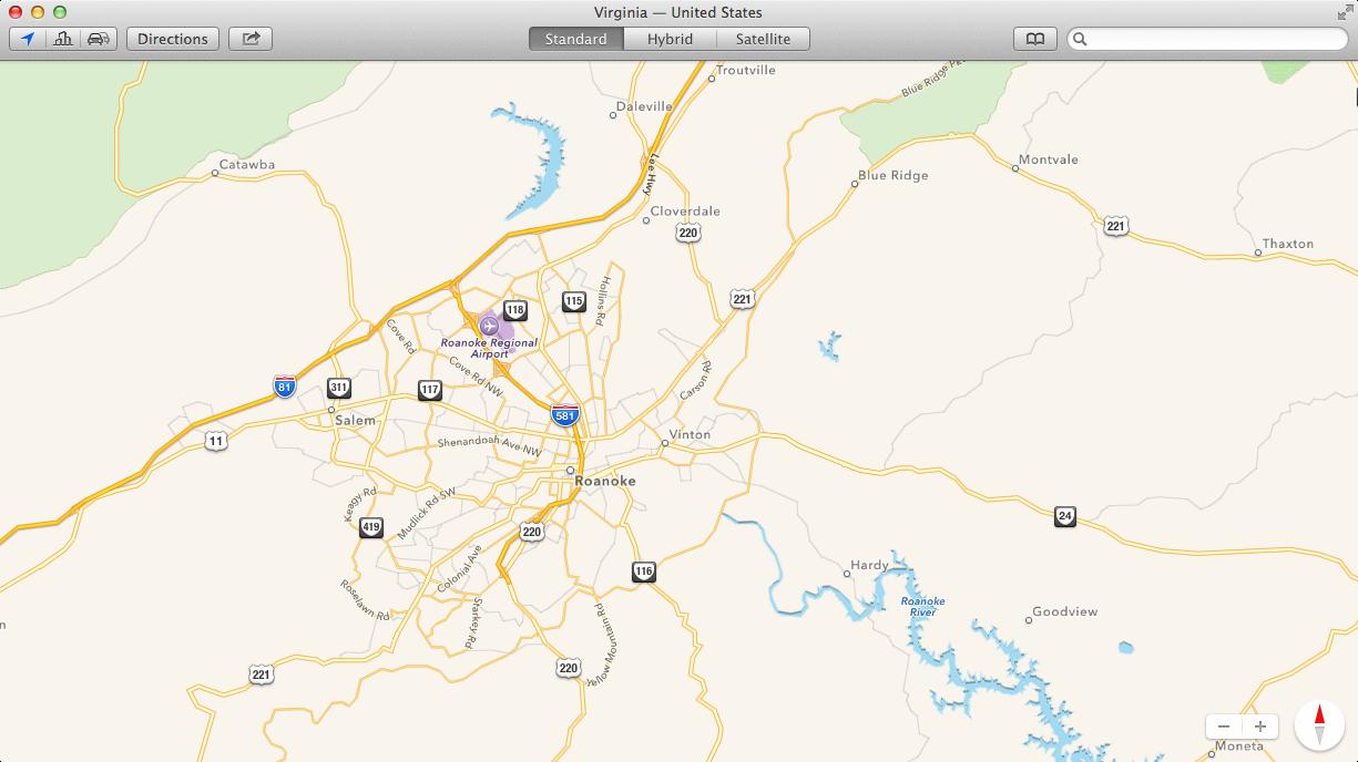 Chụp ảnh không hiệu ứng đổ bóng bằng tổ hơp phím của OS X Mavericks