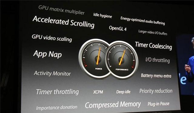 Chức năng tiết kiệm tài nguyên từ ứng dụng trên OS X Mavericks