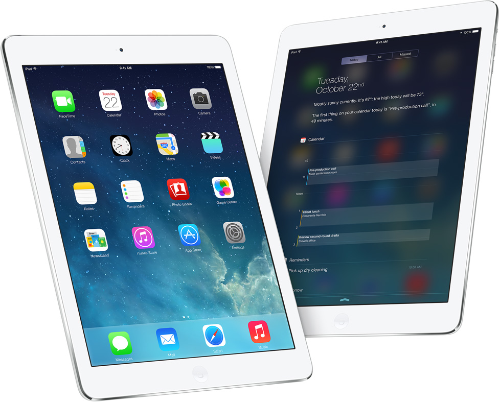 iPad-Air-Home-screen-Notification-Center