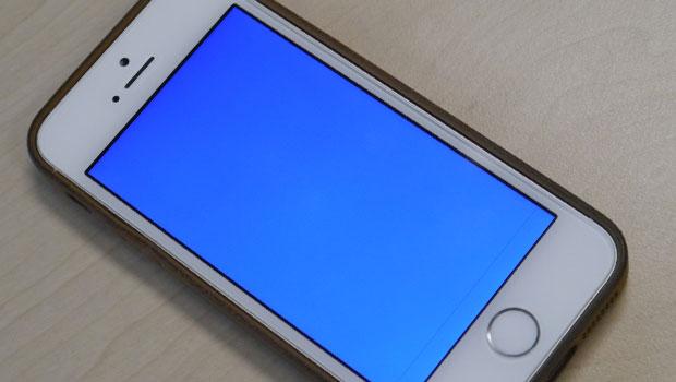 Màn hình xanh chết chóc BSOD xuất hiện trên iPhone 5s