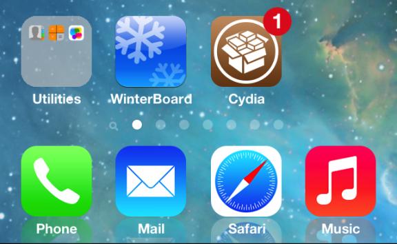 iOS 7 đã được jailbreak