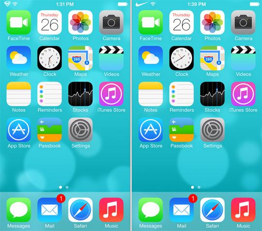Zeppelin đã hỗ trợ iOS 7
