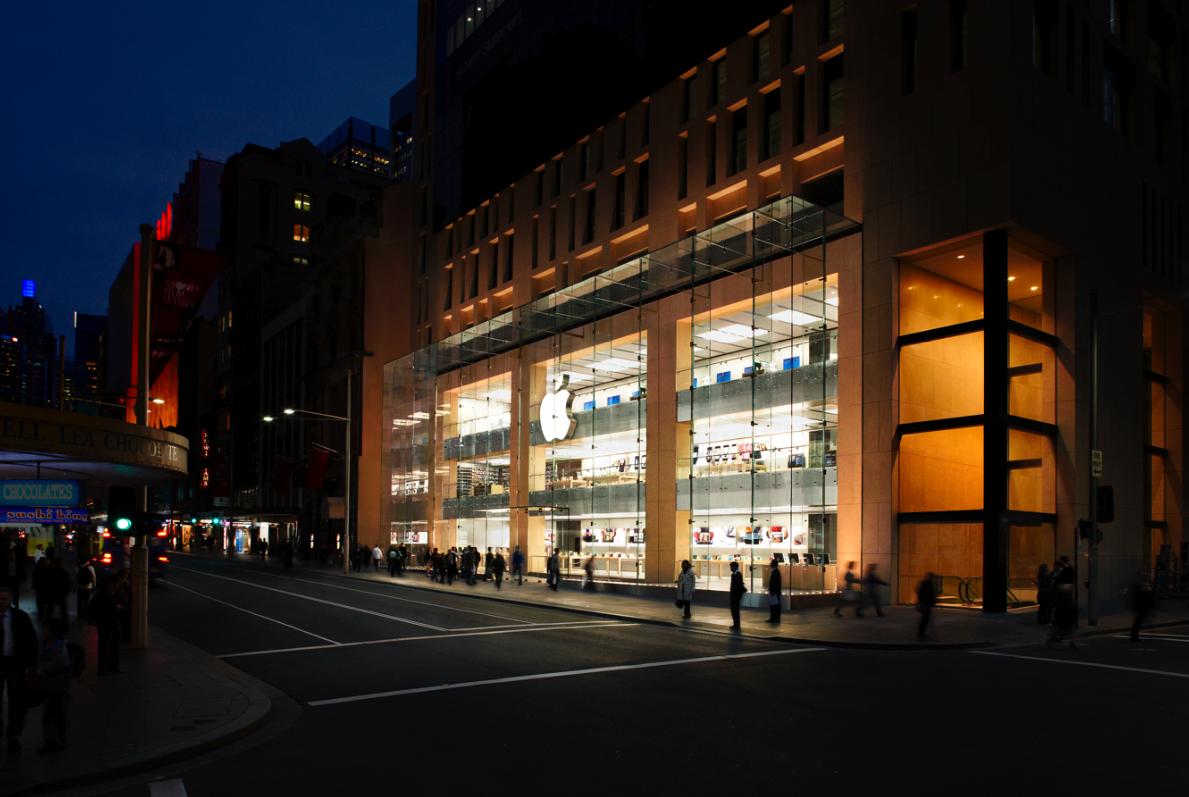Một cửa hàng Apple Store tại Úc