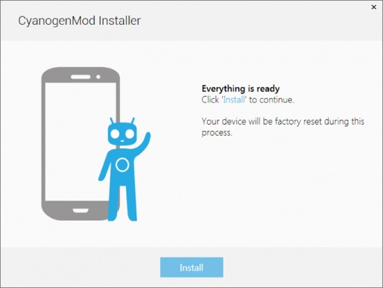 CyanogenMod-Installation-Tool
