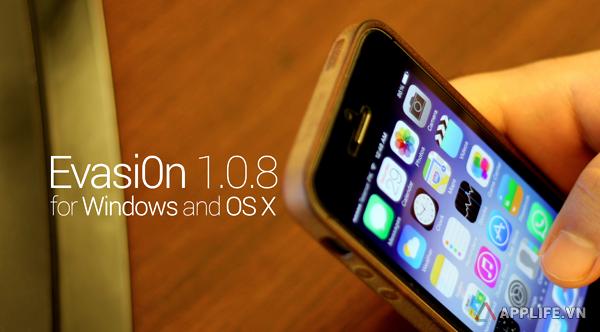evasi0n7 1.0.8 jailbreak iOS 7.1