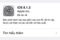 iOS 8.1.3 - applife.vn
