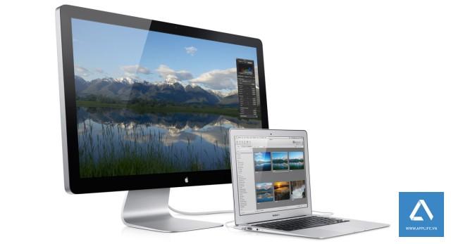 Thế hệ màn hình Apple Cinema Display thunderbolt mới sẽ được Apple ra mắt vào cuối năm nay