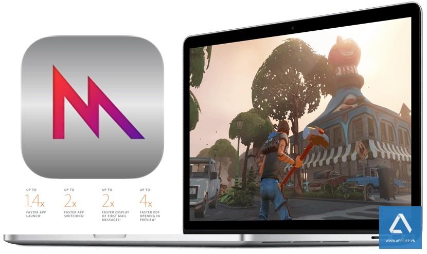 Công nghệ Metal của OS X 10.11 El Capitan