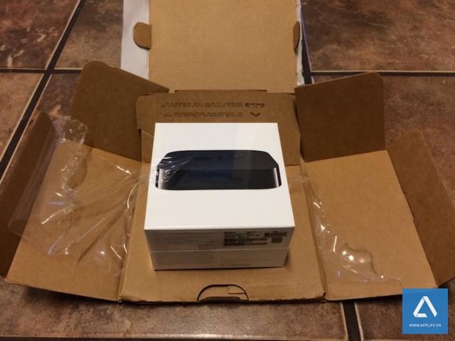 Một chiếc Apple TV vừa được Apple đổi mới cho khách hàng.