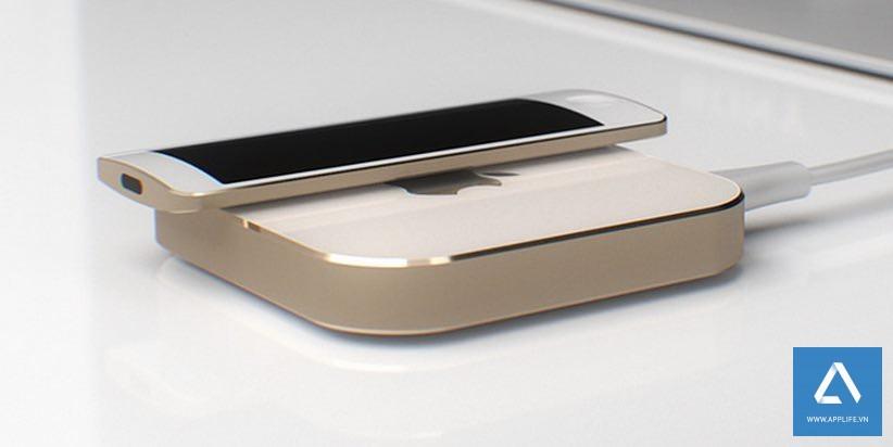 Một thiết kế ý tưởng về Apple TV mới.