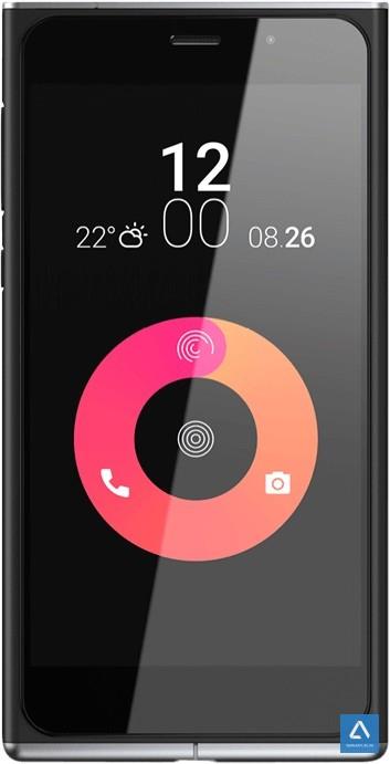Thoạt nhìn chiếc máy khá giống Lumia với phong cách iPhone