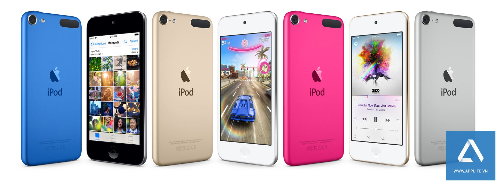 Thiết kế của iPod Touch 6 hiện nay