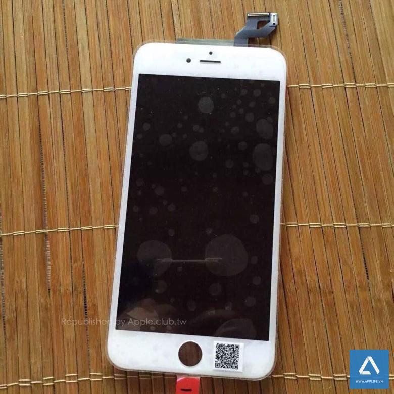 Tấm màn hình của iPhone 6s Plus có vài thay đổi ở thiết kế giao tiếp