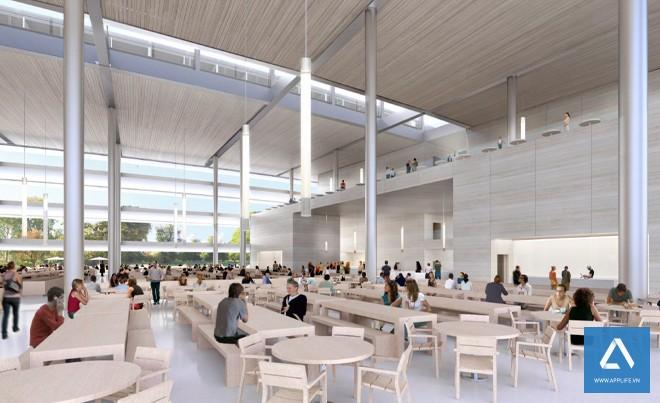 Phòng ăn và cà phê - Ảnh: Wired