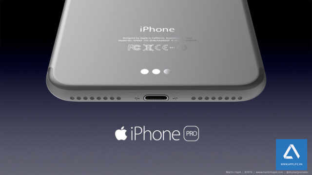 Ảnh phát thảo của iPhone 7 Pro