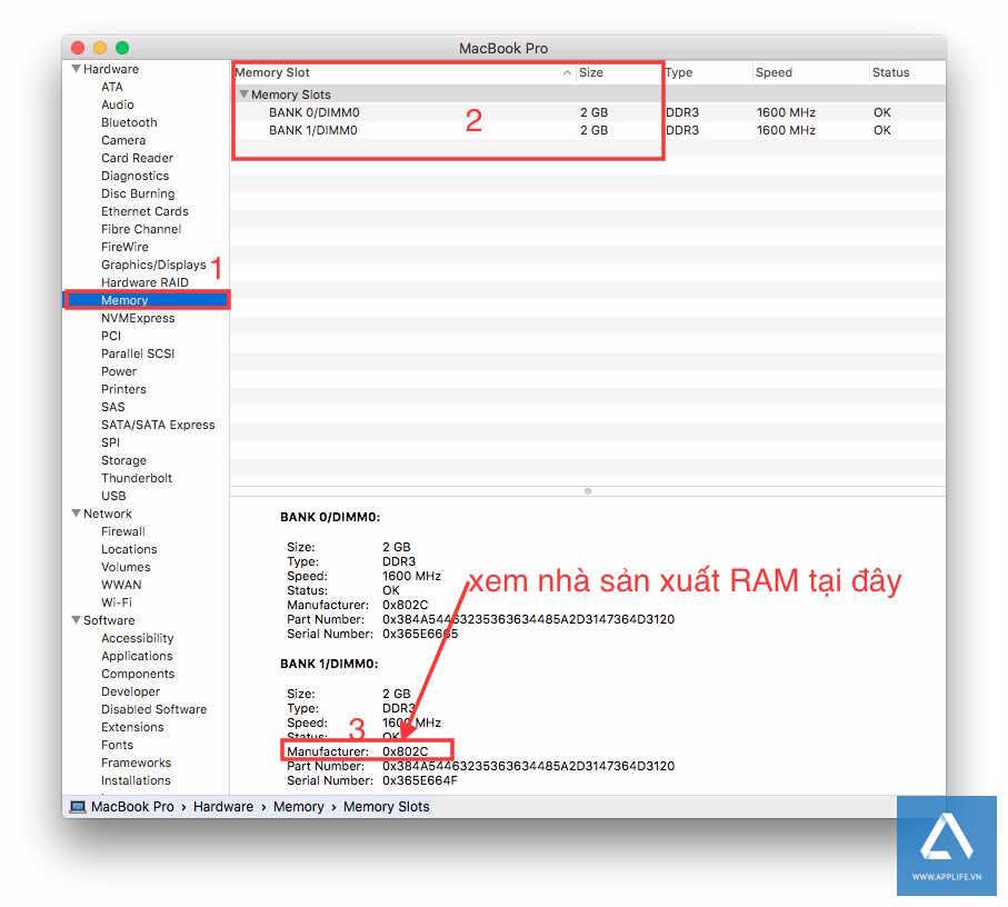 System Profiler sẽ cho bạn biết chi tiết hơn về hệ thống, cũng như phần cứng máy tính Mac.