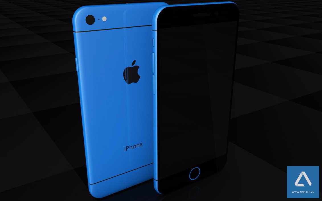 iPhone 7 vỏ nhựa (iPhone 7C?) bất ngờ xuất hiện tại Việt Nam