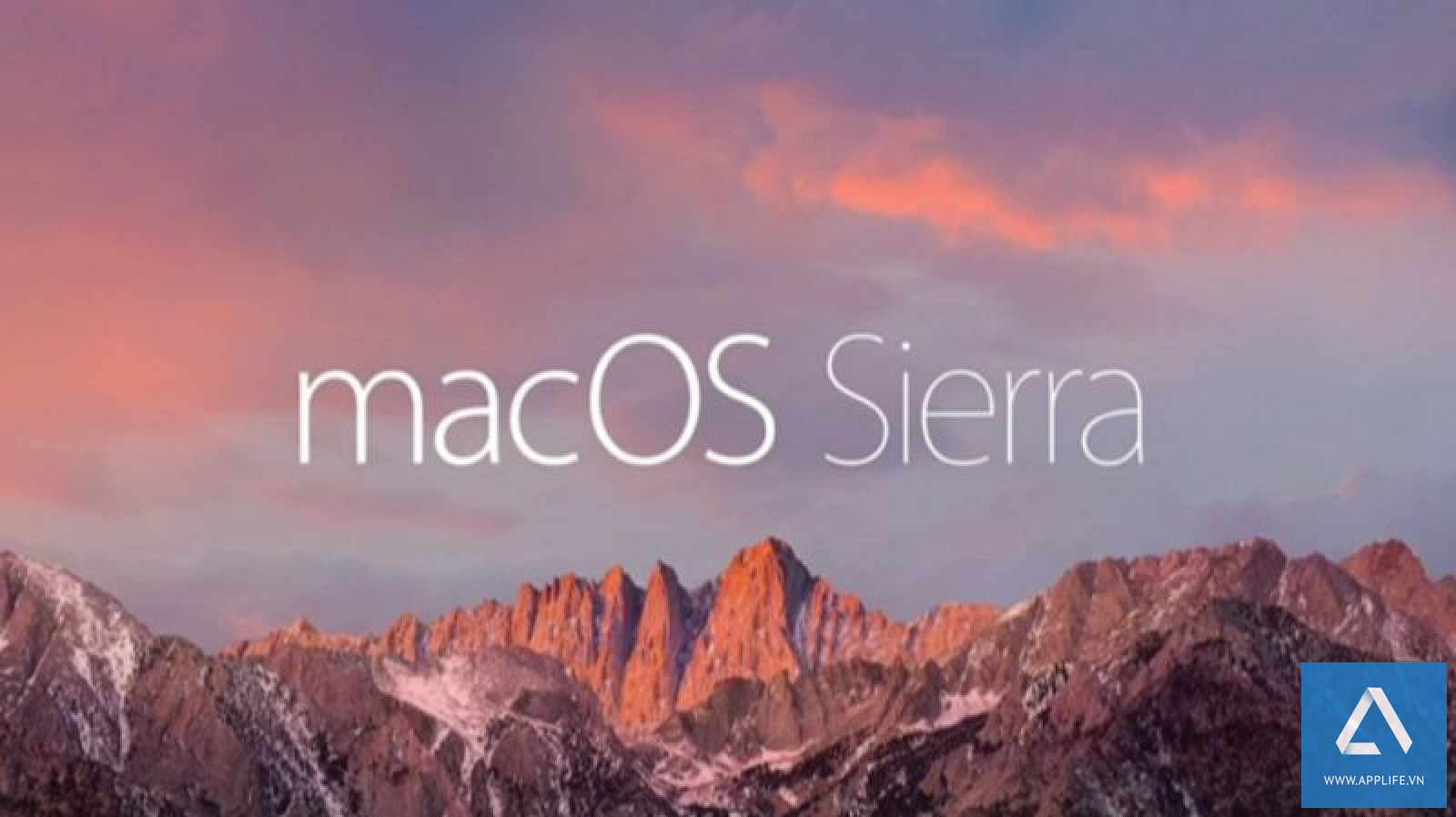 macOS Sierra 10.12