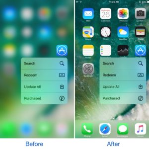 Jailbreak Tweak Smooth3D giúp tăng tốc 3D Touch