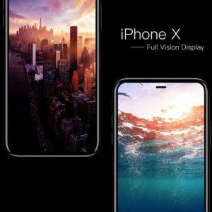 Ý tưởng iPhone 8: viền siêu mỏng Full Vision, 3 màn hình, camera cao cấp, quay phim 8K