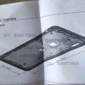 Lộ thiết kế ý phát thảo iPhone 8