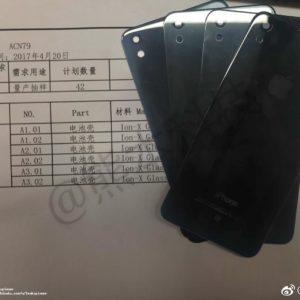 Rò rỉ ảnh iPhone 8/7s hoặc SE có thiết kế mặt kính cường lực Ion-X giống Apple Watch