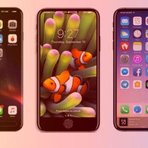 [Wallpaper] Mời tải bộ hình nền từ mẫu iPhone 8 Ý tưởng