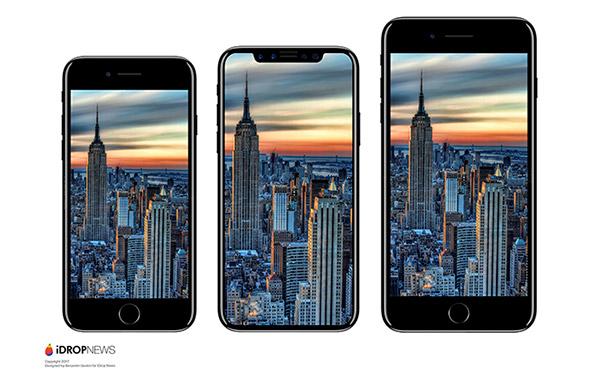 iPhone 7, iPhone 8 (ý tưởng) và Galaxy S8 hình ảnh từ iDrop News