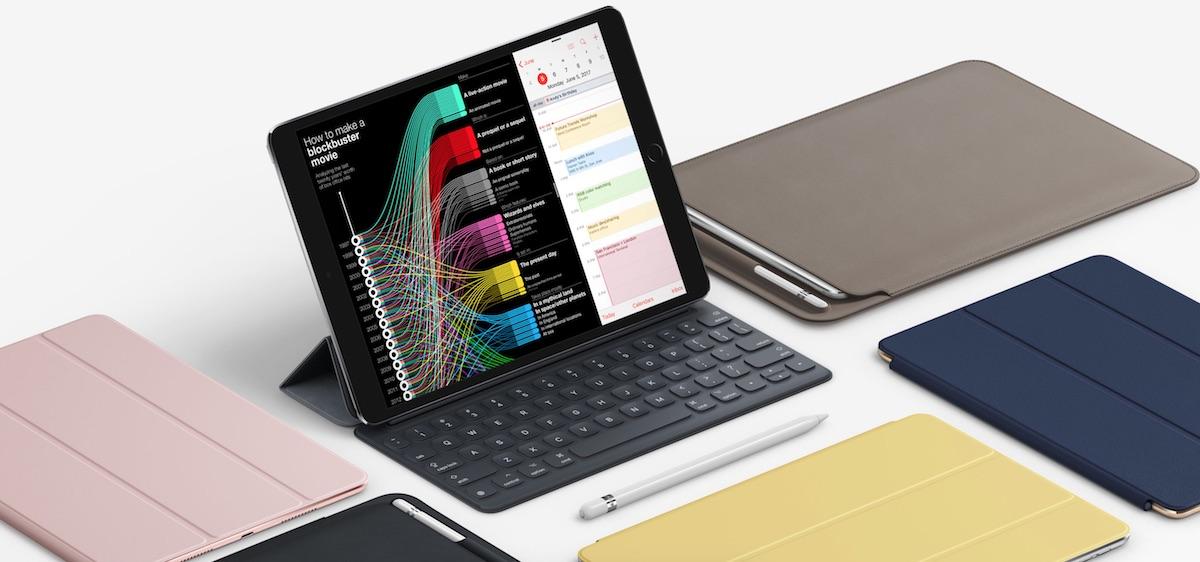Phụ kiện hỗ trợ bao gồm Smart Keyboard, Smart Cover và Apple Pencil