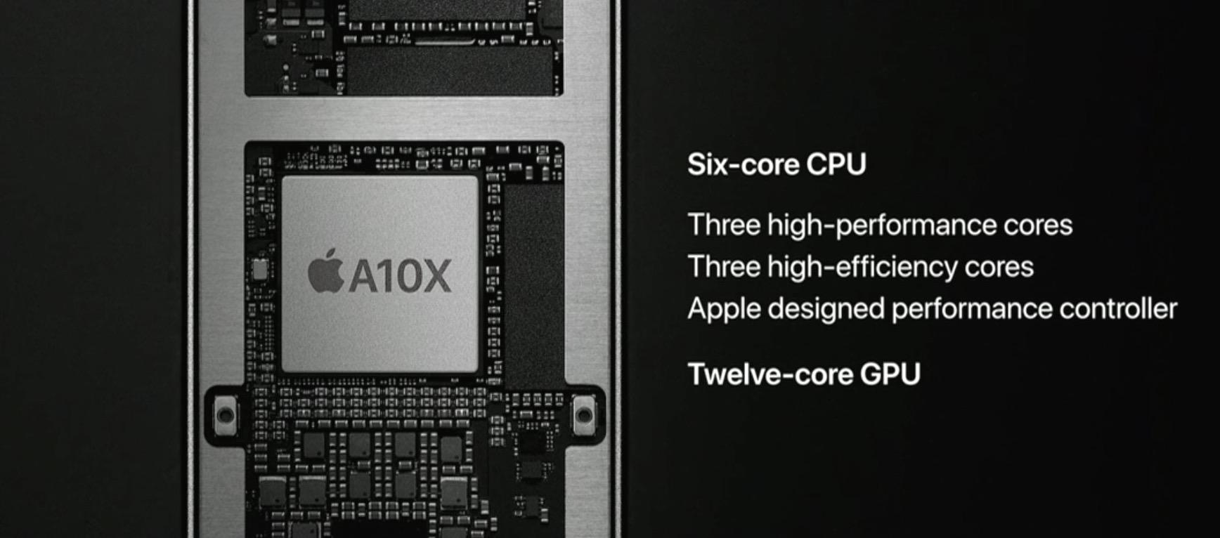 iPad Pro đi kèm với chip xử lý 6 nhân hiệu suất cao
