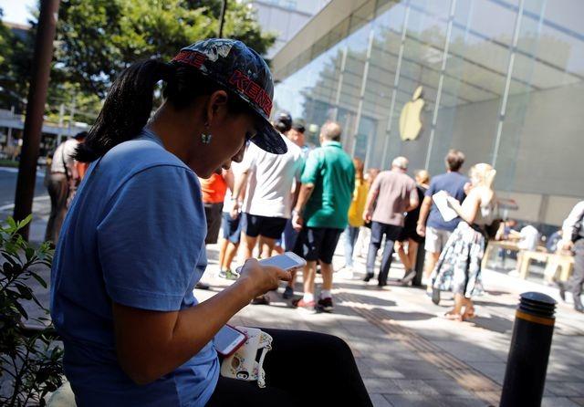 Apple Store Nhật Bản bắt đầu bán iPhone 8/8+ sáng nay
