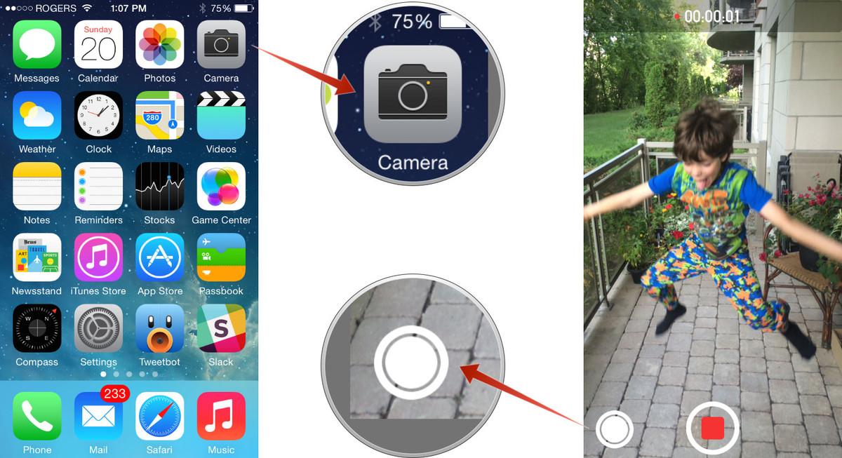 Hướng dẫn vừa quay phim vừa chụp ảnh trên iPhone