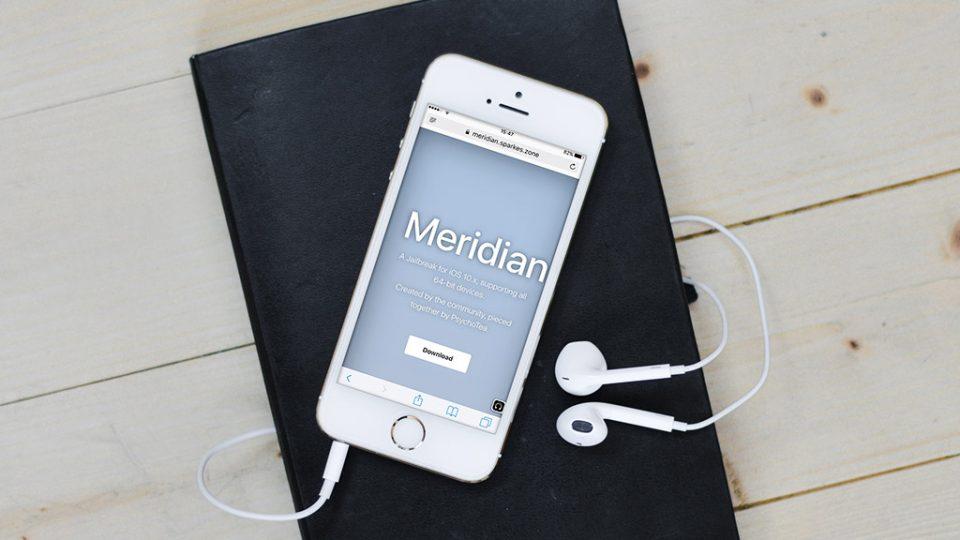 Công cụ Meridian kèm Cydia đã hoàn tất, chưa có ngày ra mắt