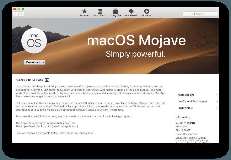 Hướng dẫn cài macOS 10.14 Mojave cho iMac, Mac Pro, MacBook, MacBook Pro, Mac Mini bằng USB