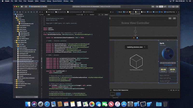 Dark Mode MacOS