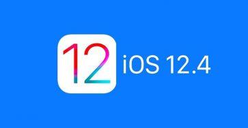 Apple chặn hạ xuống 12.4, chỉ có thể lên iOS 12.1 hoặc iOS 13