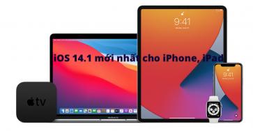 Link tải trực tiếp iOS/iPadOS 14.1 cho iPhone, iPad