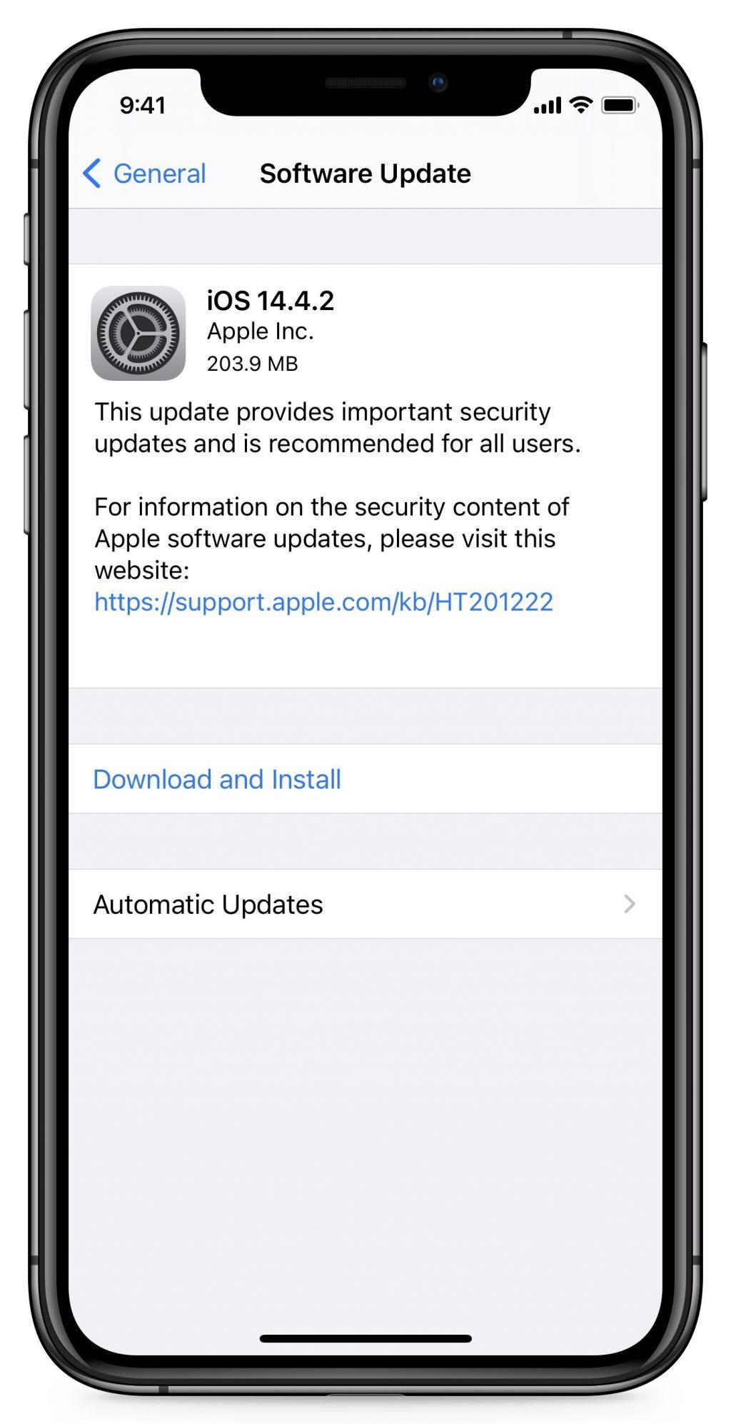 Link tải trực tiếp iOS/iPadOS 14.4.2 cho iPhone, iPad